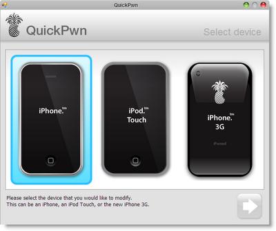 Nuevo QuickPwnGUI para Windows, con soporte para firmware 2.0.2