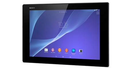 Xperia Z2 Tablet de frente