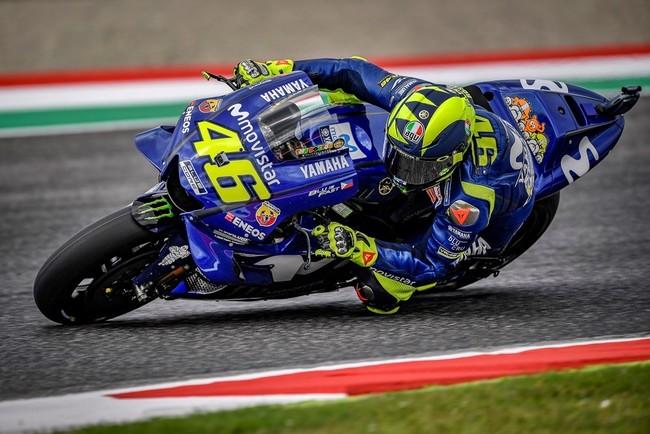 Valentino Rossi vuela en el GP de Italia para conseguir su primera pole desde Japón 2016