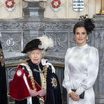 Duelo de estilos: la Reina Letizia y Máxima de Zorreguieta en la investidura del Rey Felipe VI en la Orden de la Jarretera