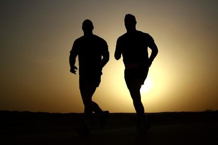 Deporte Pareja sprinter