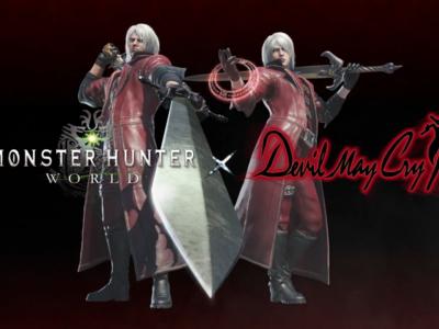 Dante será el próximo personaje invitado en unirse a la caza de Monster Hunter World