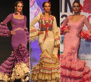 Eva Gonzalez, como pez en el agua en el Salón Internacional de la Moda Flamenca