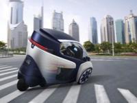 i-Road, el triciclo de Toyota que te traslada al futuro