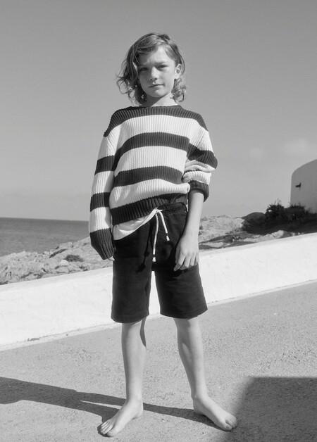 Bermudas lino algodón