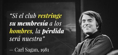 La carta con la que Carl Sagan logró que un club científico masculino se abriera a las mujeres