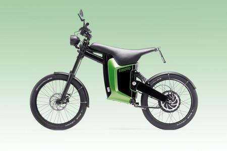 Elmoto Loop es un híbrido entre moto y bici eléctrica con hasta 70 km de autonomía y 45 km/h de velocidad punta