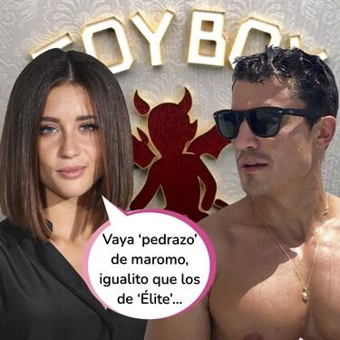 Álex González seduce a María Pedraza con su movimiento de pelvis en el club Inferno de 'Toy Boy 2': Estas son las pruebas que lo demuestran