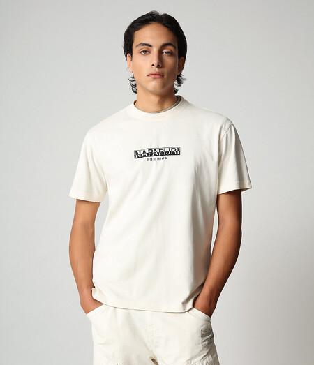 Camiseta Manga Corta Blanca Napapijiri