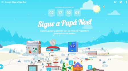 Google seguirá la ruta de Papá Noel esta Navidad con Santa Tracker