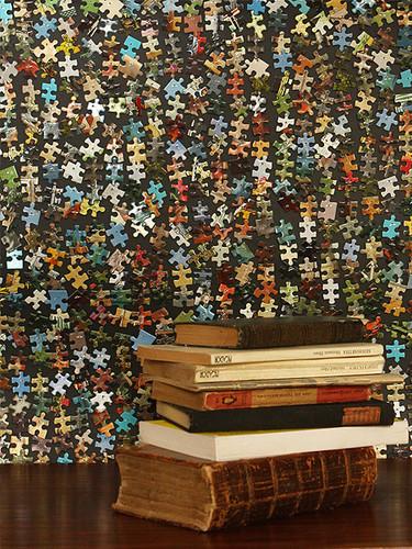 Hazlo tú mismo: crea una pared de impacto con puzzles