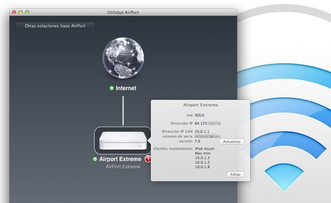 Utilidad AirPort 6.0