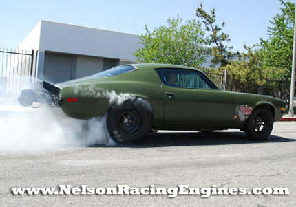 1973 Chevrolet Camaro F-Bomb de Nelson Racing