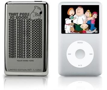 iPod Classic edición especial 'Padre de Familia'
