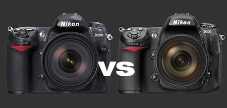 Nikon D200 vs D300