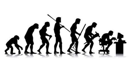 Evolución del ser humano hacia el uso del ordenador
