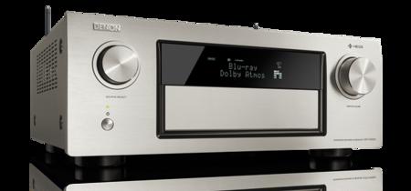 El Denon AVR-X4300H es un receptor A/V para montarte tu cine en casa si es que tu bolsillo te lo permite