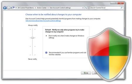 Microsoft soluciona el problema de seguridad del UAC en Windows 7