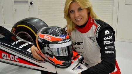 María de Villota encargada de estrenar las mejoras de Marussia