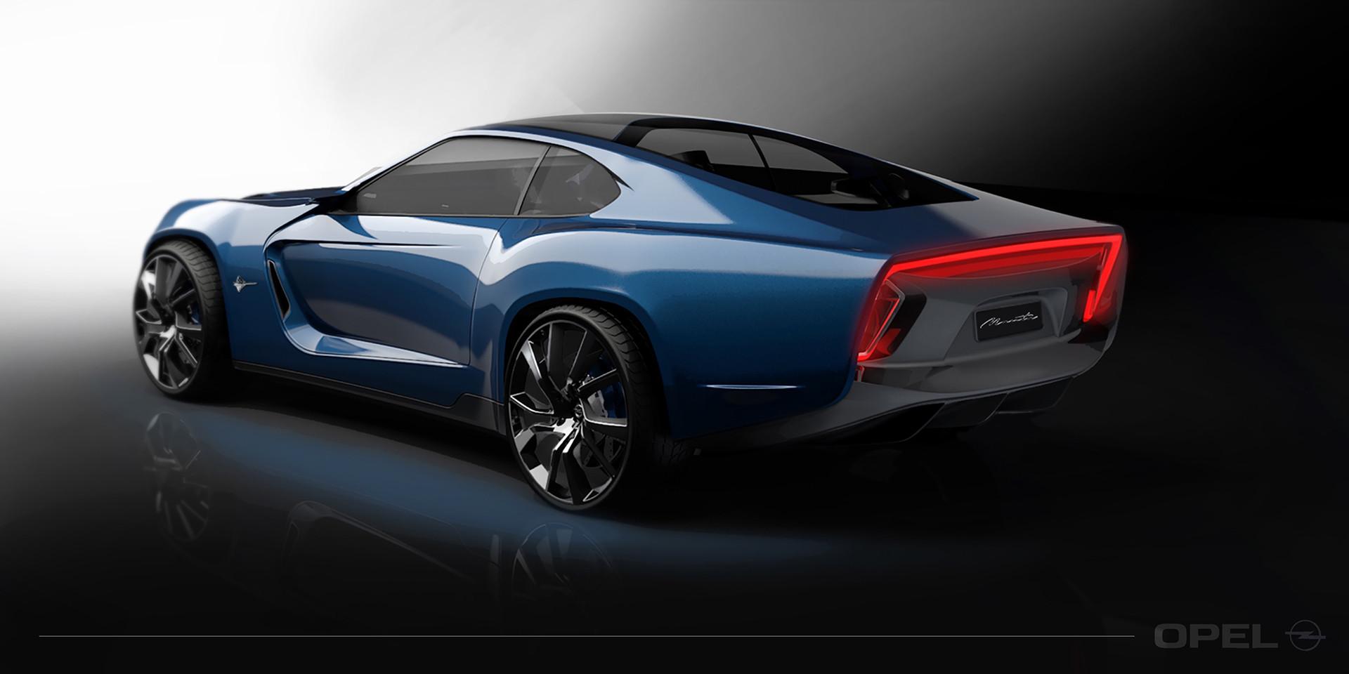 Foto de Opel Manta Concept - Behance (4/8)