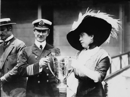 Molly Brown Rescue Award Titanic