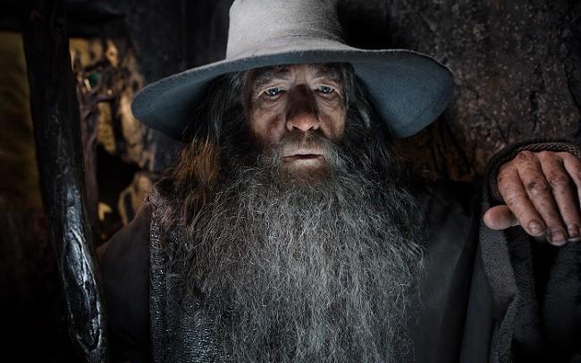 Ian McKellen es Gandalf en 'El hobbit: La desolación de Smaug'