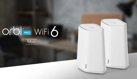 Orbi Pro WiFi 6 Mini: Netgear tiene nuevo router Mesh con WiFi 6 y WPA3 capaz de cubrir hasta 3.000 m²