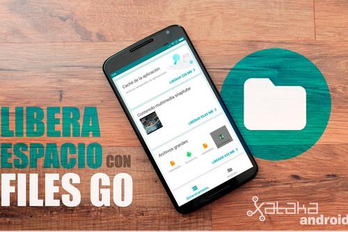 Files: cómo liberar espacio de almacenamiento en Android con la app de Google