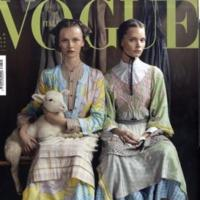 La mejor portada del año: Vogue Italia febrero de 2008