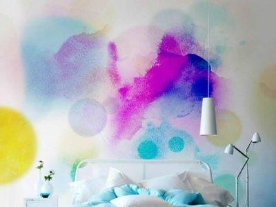 Efecto acuarela, la manera más divertida de pintar tus paredes