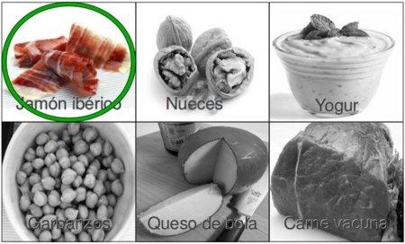 Solución a la adivinanza: el alimento con más proteínas es el jamón ibérico