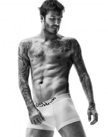 El cielo tiene que ser así: con David Beckham en calzoncillos