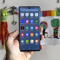 El Samsung Galaxy Note 10 empieza a actualizarse a Android 10