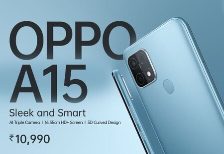OPPO A15: una línea de entrada muy clásica con un gran diseño muy característico
