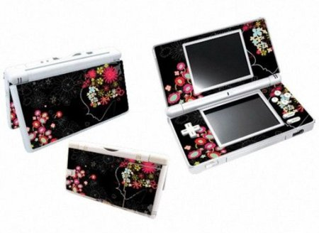 Vinilo floral para decorar tu Nintendo DS Lite