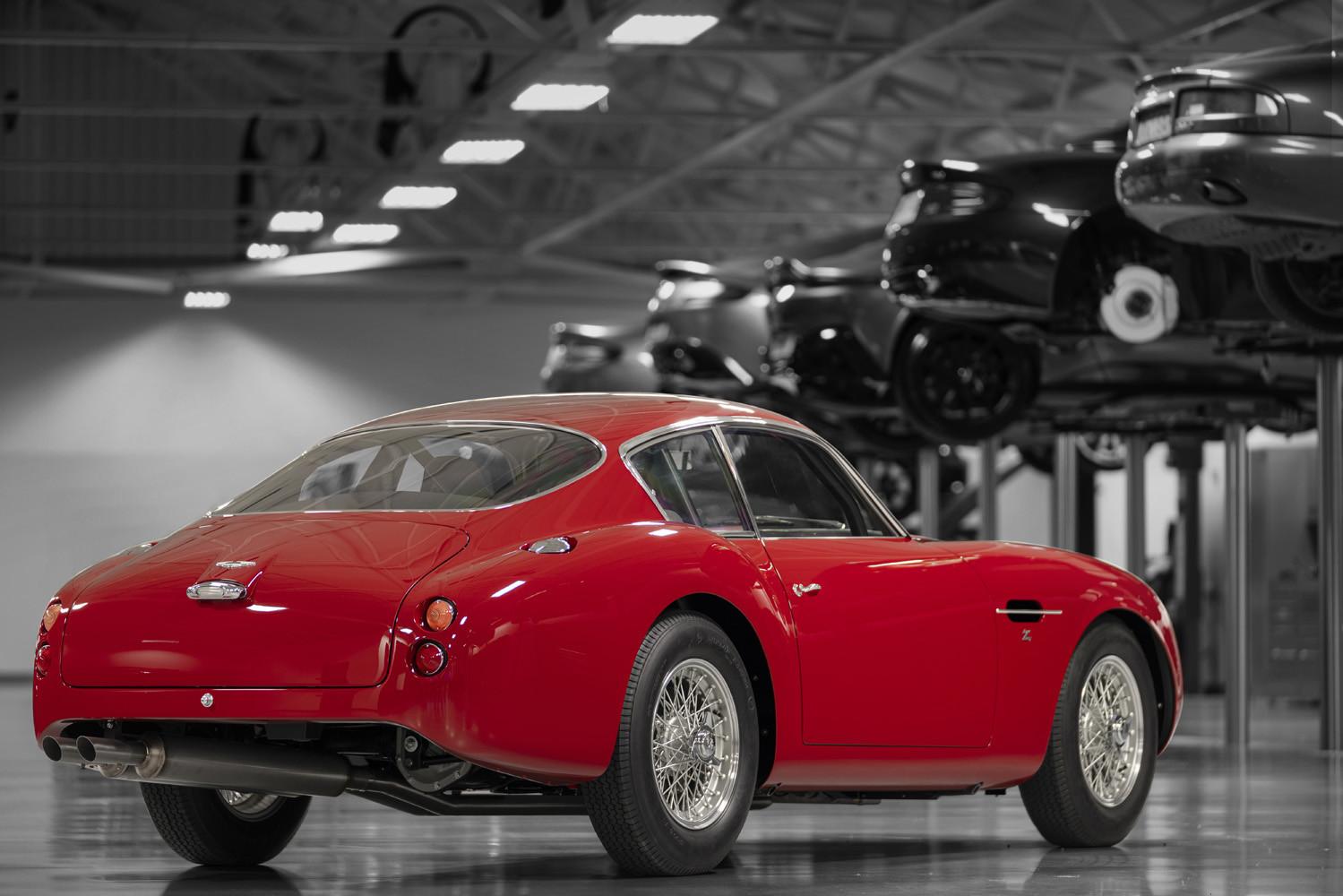 Foto de Aston Martin DB4 GT Zagato Continuation (10/21)