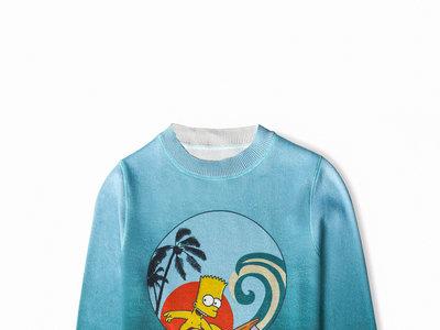 Bart Simpson se convierte en ícono de una de las mejores colecciones cápsula de este verano