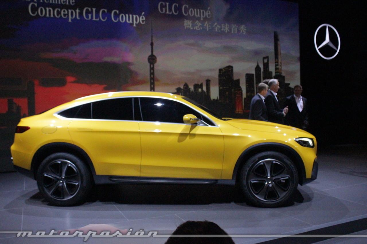 Foto de Mercedes-Benz Concept GLC Coupé (Premiere en Shangai) (14/26)