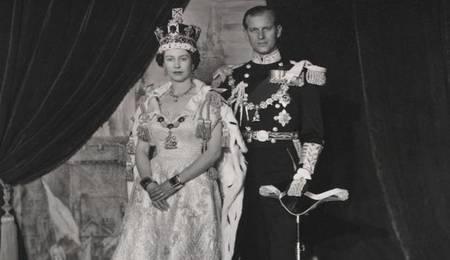 Reina y Duque de Edimburgo