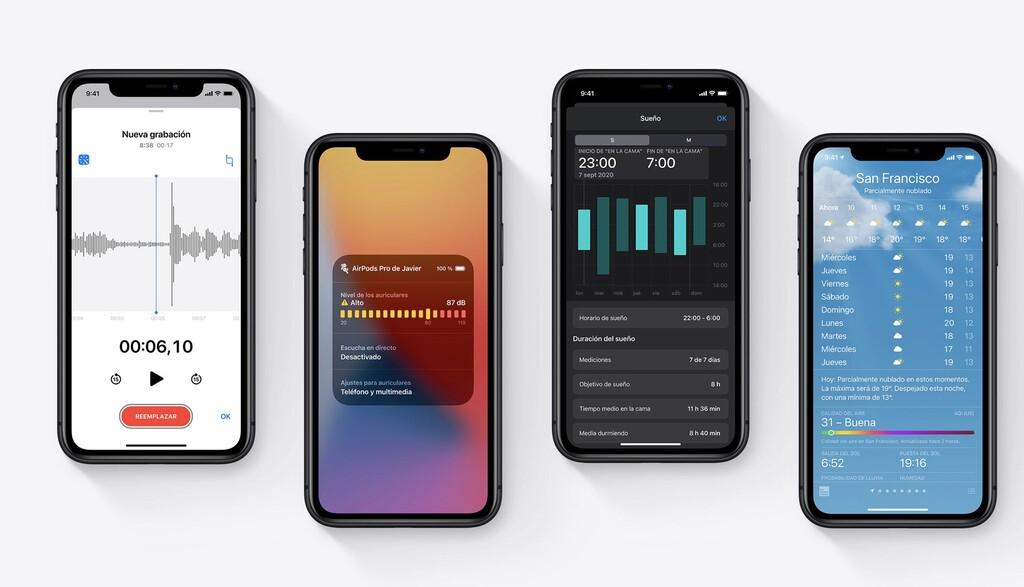 Apple lanza la 5.ª beta(programa) de iOS℗ 14.2 y del resto de sistemas, disponible para desarrolladores