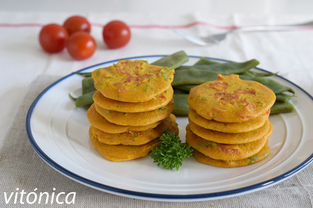 Tortitasgarbanzos