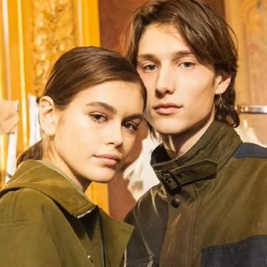 Las semanas de la moda han tenido su propia historia de amor con Kaia Gerber y el también modelo Wellington Grant