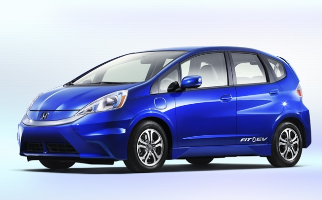 Honda Jazz EV azul