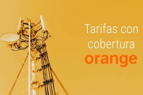 Las mejores tarifas con cobertura Orange