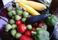 ¿A qué equivale una porción de verduras?