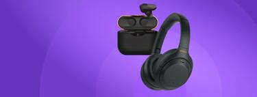 ¿Quieres auriculares Bluetooth? Toma dos tazas: Sony WH-1000XM4 y Sony WF-1000XM3 en pack oferta de Black Friday a 548 euros