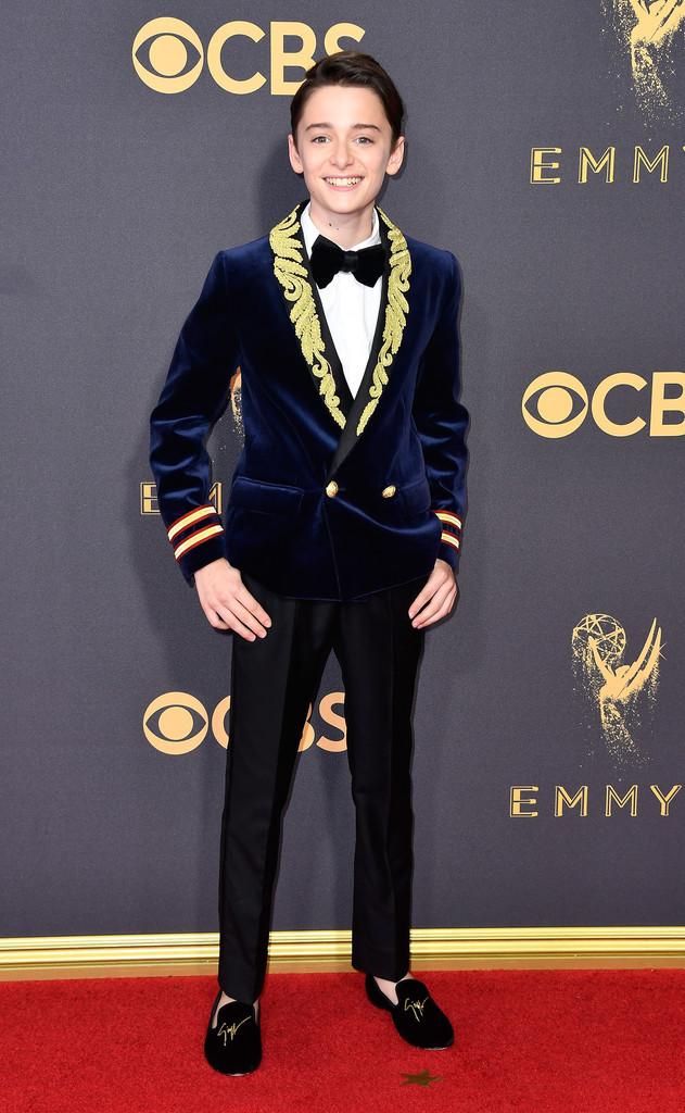 Noah Schnapp Stranger Things Cast Red Carpet Emmys 2017 5