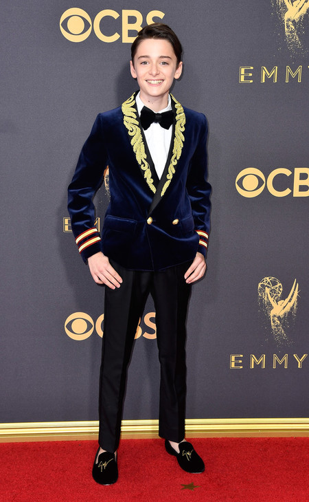 Noah Schnapp Stranger Things Cast Red Carpet Emmys 2017 5