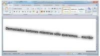 Word 2007 como editor de textos minimalista