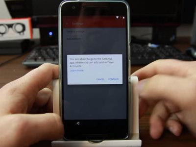 Todavía se puede saltar la protección del reinicio de fábrica en Android N
